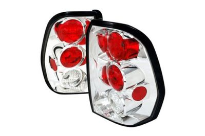 02-09 Chevy Trailblazer Euro Altezza Tail Lights Chrome