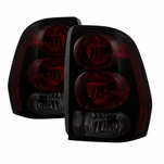 02-09 Chevy Trailblazer OEM Style Replacement Tail Lights - Smoked