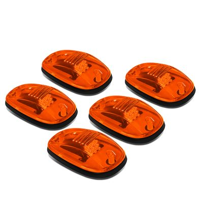 02-18 Dodge Ram 1500-5500 5 X Amber Lens LED Cab RoofRunning  Clearance Lights