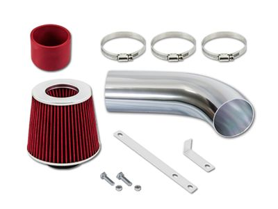 03-04 Saturn Ion 1 2 3 2.2L Ecotec DOHC Short Ram Air Intake Kit - Red