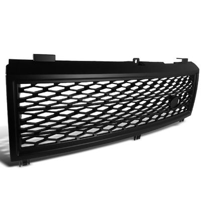 "03-05 Land Rover Range Rover FRONT ""SUPERCHARGED STYLE"" BLACK Hood Grill Grille"
