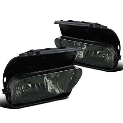 03-06 Chevy Silverado / Avalanche OEM Style Replacement Fog Lights Kit - Smoked