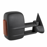 03-06 Chevy Silverado Manual Extendable - POWER Heated Adjust Mirror with LED Signal Amber - Passenger Side