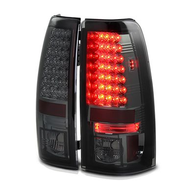 03-06 Chevy Silverado / Sierra LED Tail Lights - Smoke ALT-YD-CS03-LED-SM By Spyder