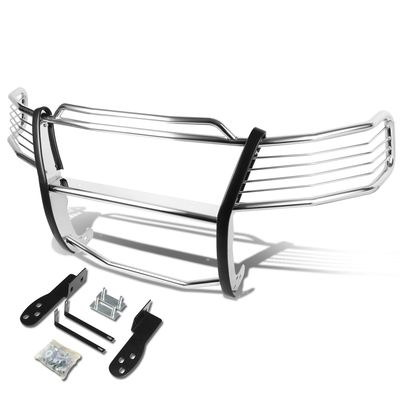 03-06 Ford Expedition U222 Front Bumper Protector Brush Grille Guard (Chrome)