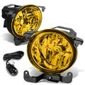 03-06 Hyundai Accent 4Dr Accent Amber Lens Oe Driving Pair Fog Lights