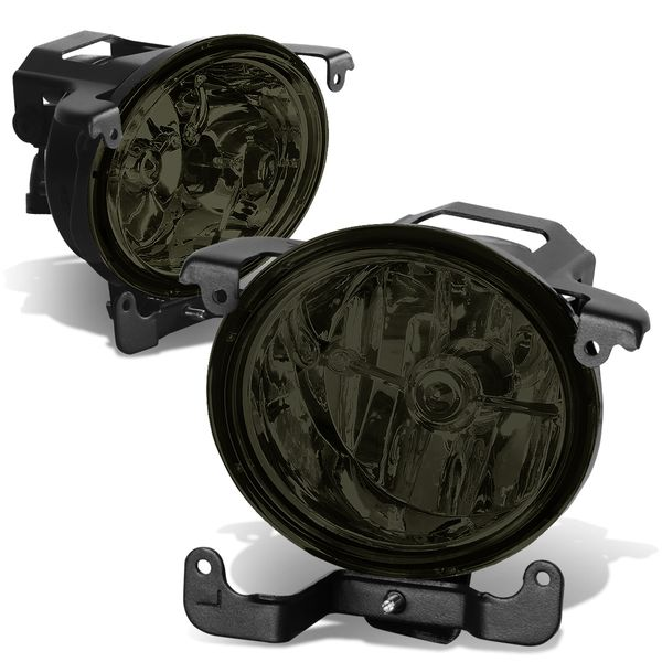 03-06 Hyundai Accent 4DR Hatchback Smoked Lens Oe Driving Pair Fog Lights