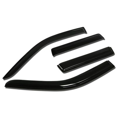 03-06 Mitsubishi Outlander Smoke Tint Side Window Visor Shade / Deflector