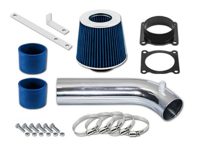 03-06 Nissan 350Z 3.5L V6 Short Ram Air Intake Kit - Blue