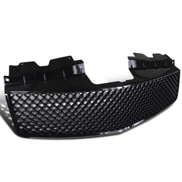 2003-2007 Cadillac CTS / CTS-V Front Hood Mesh-Style Grill - Black