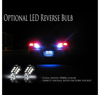 03-07 Cadillac CTS Euro Style LED Tail Lights - Red / Clear
