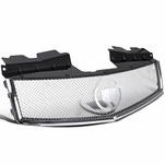 03-07 Cadillac CTS Front ABS / Stainless Steel Mesh Hood Grill