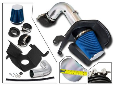 03-07 Dodge RAM 2500 / 3500 5.9L L6 [Turbo Diesel] Heat Shield Air Intake - Blue