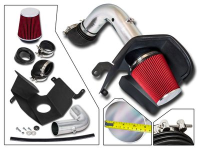 03-07 Dodge RAM 2500 / 3500 5.9L L6 [Turbo Diesel] Heat Shield Air Intake - Red