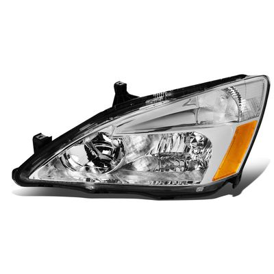 03-07 Honda Accord Left OE Style Headlight Headlamp Replacement HO2502120