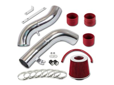 03-07 Hyundai Tiburon V6 2.7L Cold Air Intake - Red