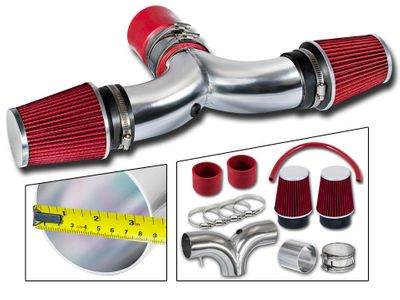 03-08 Dodge RAM 1500 5.7L V8 Dual Short RAM Air Intake - Red Filter