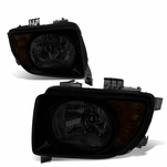 03-08 Honda Element [Non Sc Model] Replacement Headlights - Smoked / Amber