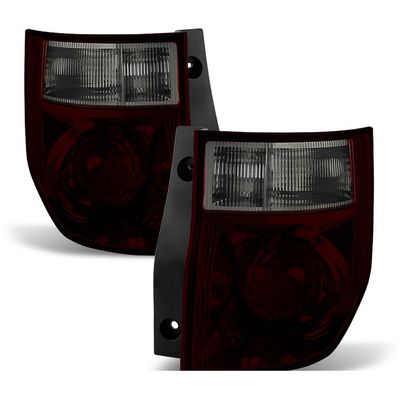 03-08 Honda Element OEM Style Tail Lights - Tinted Smoked