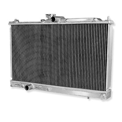 03-08 MITSUBISHI EVO 7/8/9 EVOLUTION TWO ROW/CORE ALUMINUM RACING RADIATOR