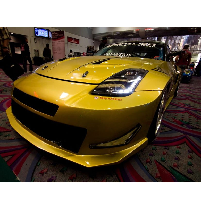 03-08 Nissan 350Z (HID Model) Z33 Euro Style LED DRL Projector
