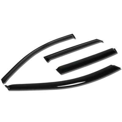 03-08 Toyota Matrix  / Pontiac Vibe 4pcs Window Vent Visor Deflector Rain Guard (Dark Smoke)