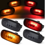 03-09 Dodge Ram Truck 4Pcs LED Dually Fender Marker Light Replacement Smoked