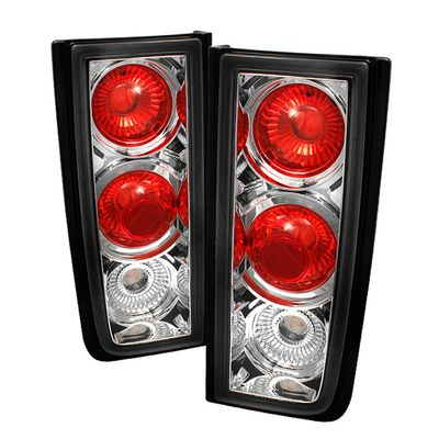 03-09 Hummer H2 ( Non H2T ) Euro Style Tail Lights - Chrome