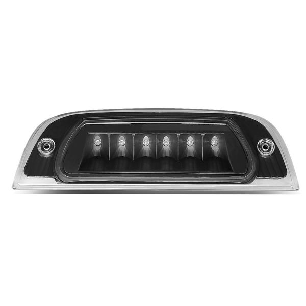 02-07 Jeep Liberty KJ Rear High Mount LED 3rd Brake Light - Black