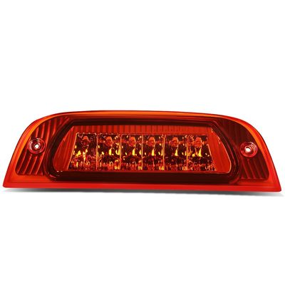 02-07 Jeep Liberty KJ Rear High Mount LED 3rd Brake Light - Red