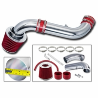 03-10 Dodge Dakota 3.7L V6 / 4.7L V8 Short Ram Air Intake - Red