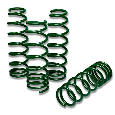 "03-10 Mazda RX8 1.75"" Drop Suspension Lowering Spring - Green"