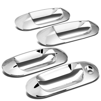 03-14 Ford Expedition / Navigator 4pcs Exterior Door Handle Cover without Passenger Keyhole (Chrome)