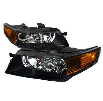 04-05 Acura TSX [Factory HID Model] Projector Headlights - Black