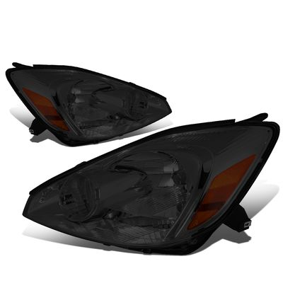 04-05 Toyota Sienna [Halogen Type] OE-Style Replacement Headlights  - Smoked / Amber