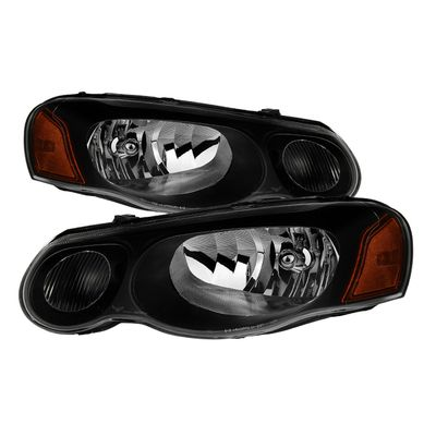 04-06 Chrysler Sebring Convertible & Sedan ( Does not fit 2 door ) OEM Style Headlights - Black
