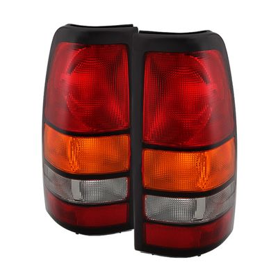 04-06 GMC Sierra [Non Step Side] OEM Style Replacement Tail Lights