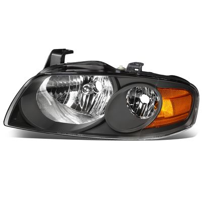 04-06 Nissan Sentra LH Left Side OE Style Headlight Lamp Replacement Black
