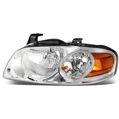04-06 Nissan Sentra LH Left Side OE Style Headlight Lamp Replacement Chrome
