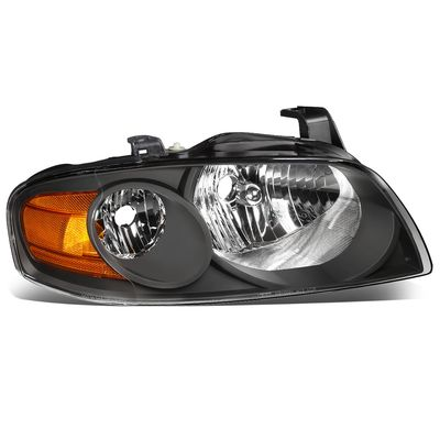 04-06 Nissan Sentra RH Right Side OE Style Headlight Lamp Replacement Black
