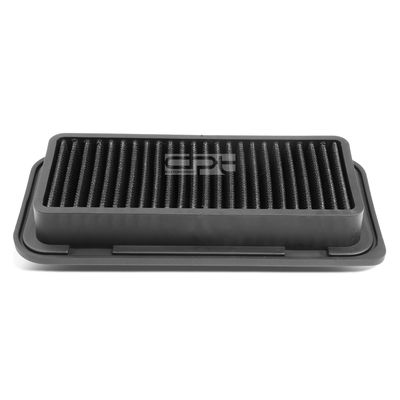 04-06 Toyota Echo / Scion xA/xB Reusable & Washable Replacement High Flow Drop-in Air Filter (Black)