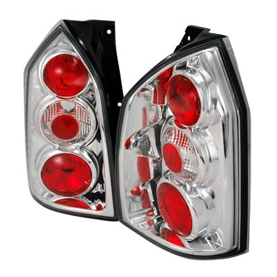04-07 Hyundai Tucson Tail Lights -Chrome