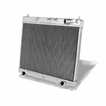 04-07 Scion Xb Bb Xa Mt 2-Row Dual Core Bolt-On Full Aluminum Racing Radiator