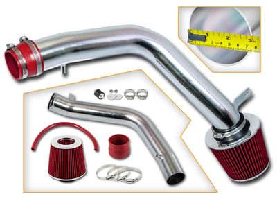 04-08 Acura TL 3.2L / 07-08 TL Type-S 3.5L Cold Air Intake - Red