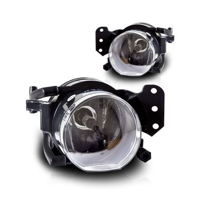 04-08 BMW E60 5-Series OEM Style Replacement Fog Lights - Clear