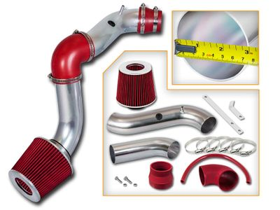 04-08 Chevy Aveo 1.6L L4 Cold Air Intake - Red
