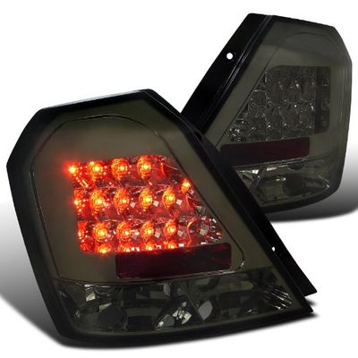 04-08 Chevy Aveo Euro Style LED Tail Lights - Smoked
