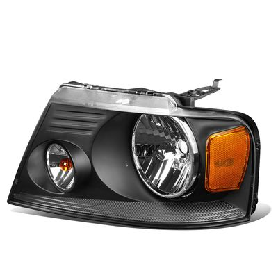 04-08 F150 Mark LT Left Side OE Style Headlight Lamp Replacement FO2502201