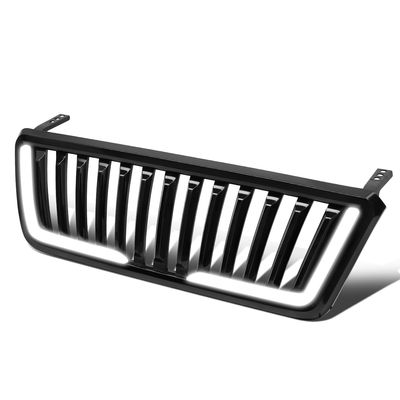 04-08 Ford F150 Fence Style LED Light Bar Front Bumper Grille