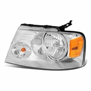 04-08 Ford F150 Mark LT Left OE Style Headlight Lamp Replacement FO2502201